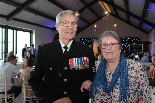 Special Constable Richard Warren with his wife Lynette Picture: WILTSHIRE POLICE