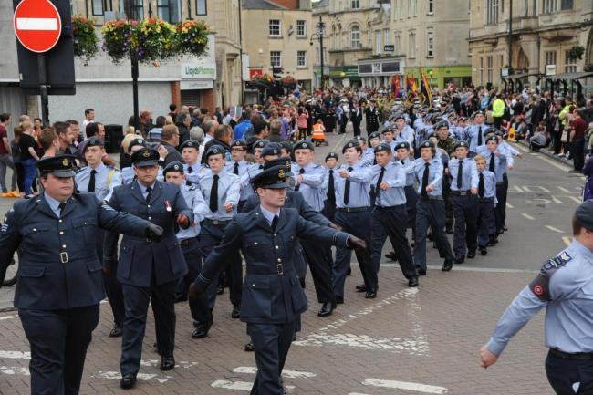 Armed Forces Day in Trowbridge