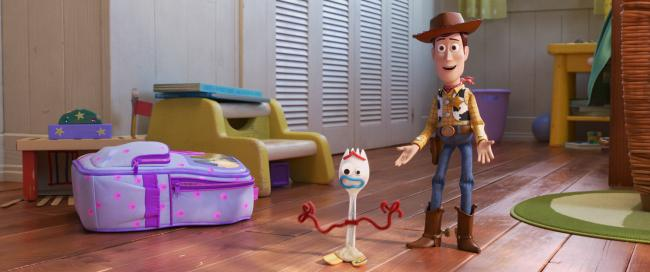 Woody and Forky take to the big screen