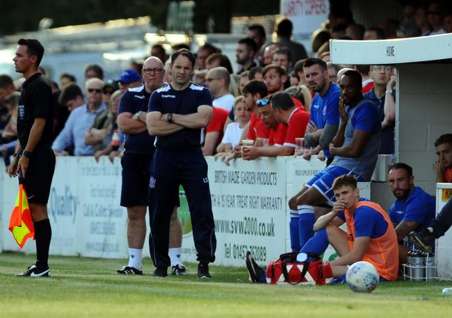 Swindon Supermarine manager Lee Spalding sees his side begin their Southern League Challenge Cup campaign at home to Larkhall Athletic this evening