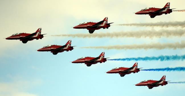 AIR TATTOO DAY 2: What will the Red Arrows do if it stays cloudy?