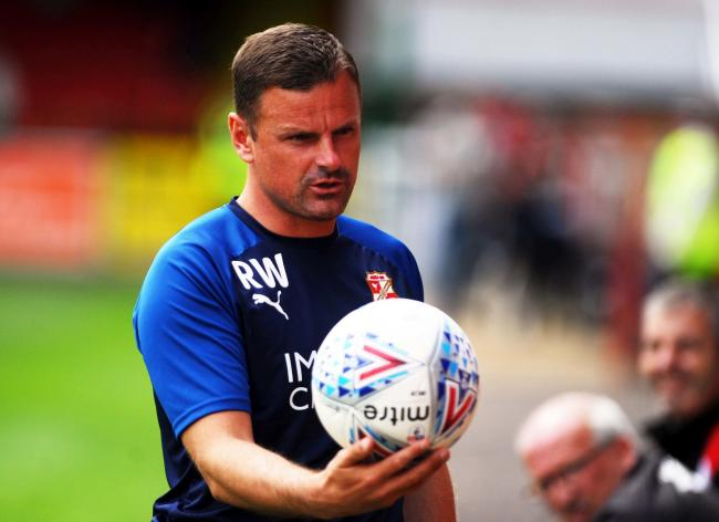STFC v Coventry City      Pic Dave Evans   27/07/2019.Town boss Richie Wellens.