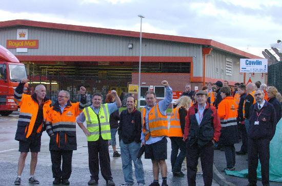 This Is Wiltshire: Workers at the Dorcan delivery office