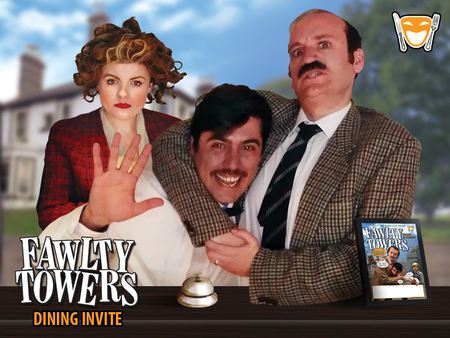 Fawlty Towers Dinner Show Mercure Newbury Elcot Park Hotel - 5th October