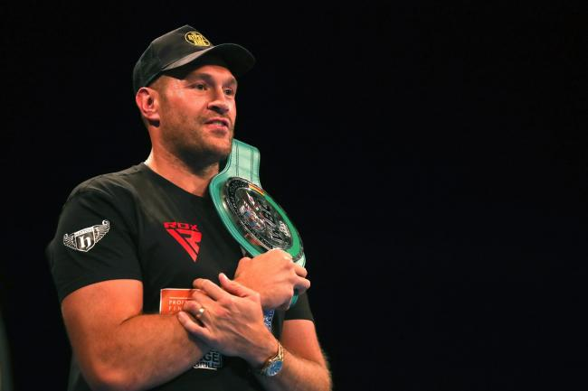 Tyson Fury will fight Otto Wallin in Las Vegas
