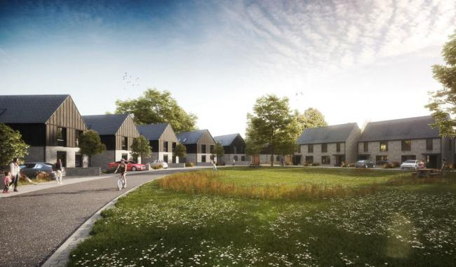 Backhouse Housing plans to build the new homes at Boreham Mead around a village green