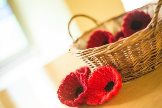 The Countess has called for help making knitted poppies.