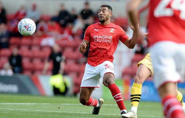 Keshi Anderson has missed just two of Town's 13 League Two games this season