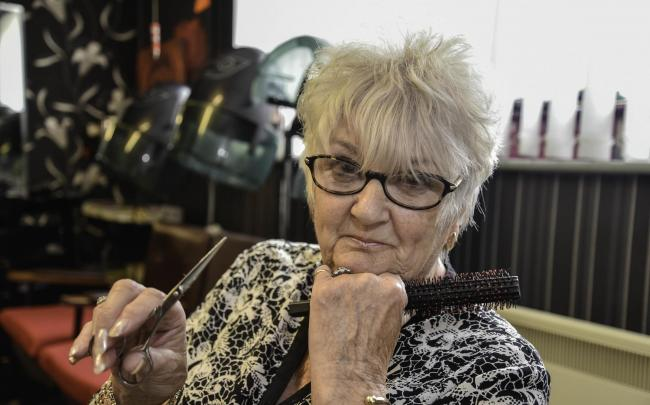 Myra Sharp is closing Spider's Web hair salon in Calne, after 39 years of running it.