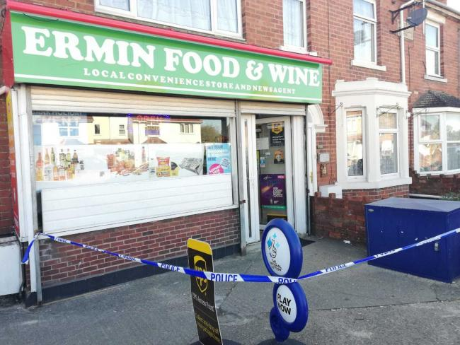 Ermin Food & Wine in Lower Stratton was robbed