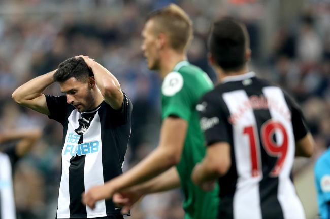 Fabian Schar ensured the spoils were shared in Newcastle