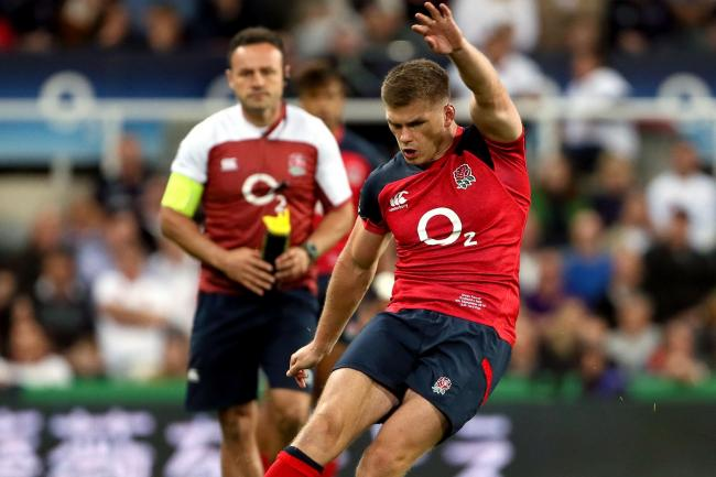 Owen Farrell thinks England need to tap into the nation's love of big tournaments
