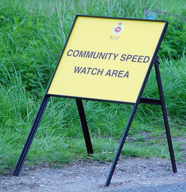 This Is Wiltshire: Community Speed Watch held an event at Wiltshire Police HQ