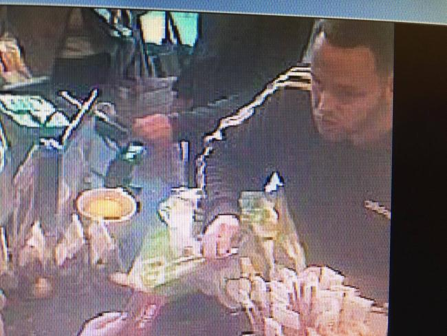 The man police want to speak to in connection with forged notes used at Costa Coffee Picture: WILTSHIRE POLICE