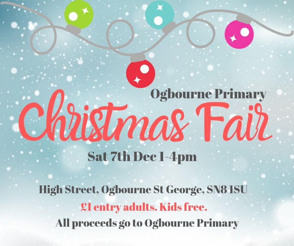 Ogbourne Primary School Christmas Fair