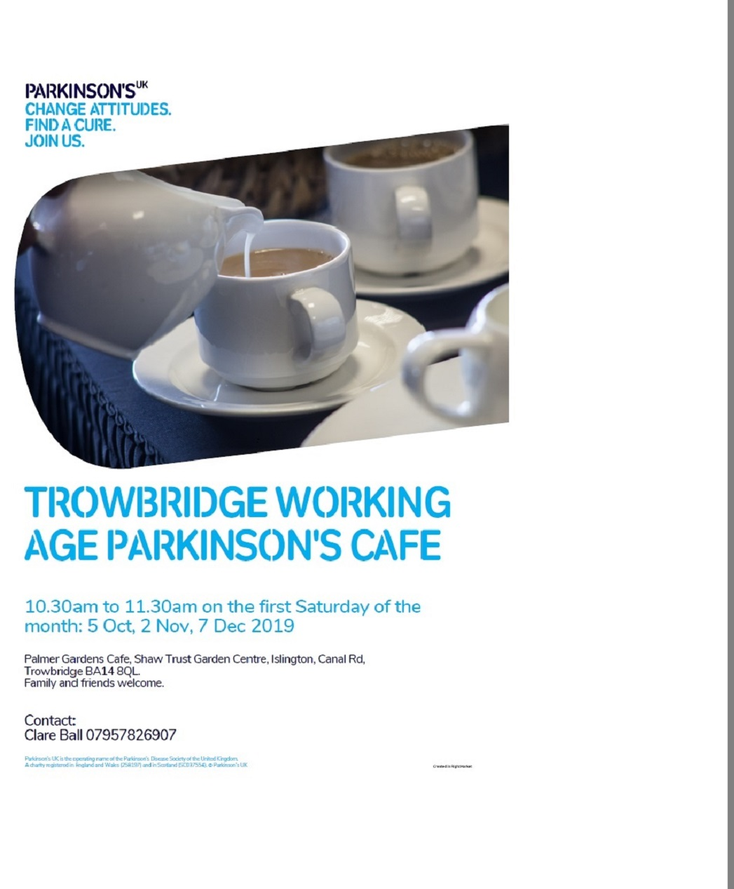 Parkinson's working age cafe