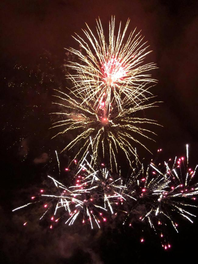 Firework fallout in Chippenham over claims of burning shards falling on golf club