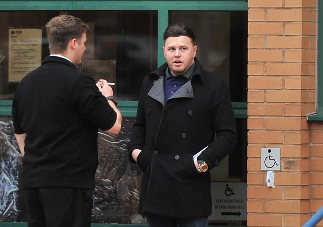 Jason Ranford outside court last November, when he pleaded not guilty to fraud Picture: ADVER PHOTOGRAPHER