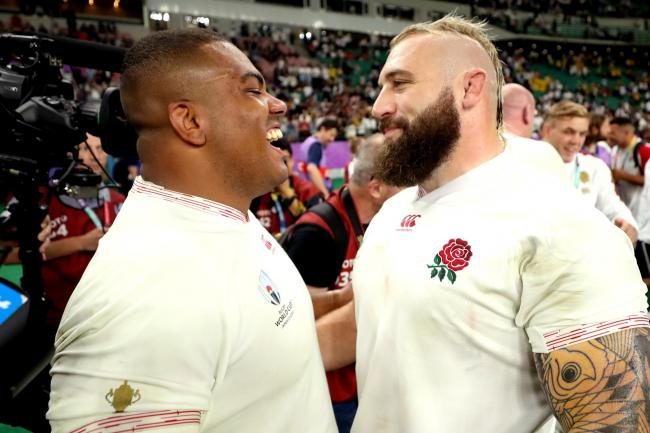 Joe Marler is expected to continue playing alongside Kyle Sinckler (left) for both Harlequins and England
