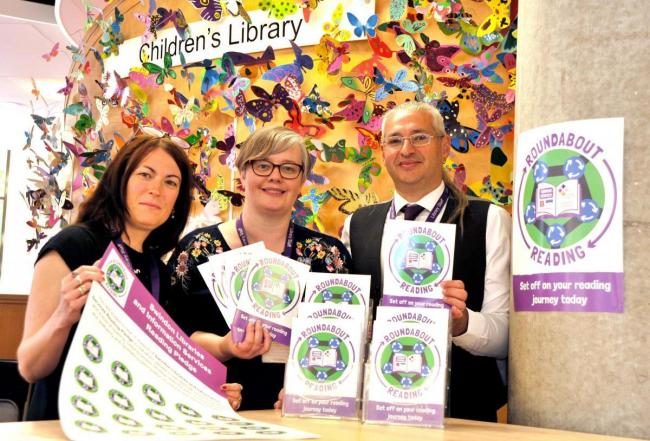 The Roundabout Reading scheme launch