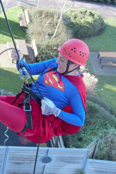 Abseil for Brighter Futures