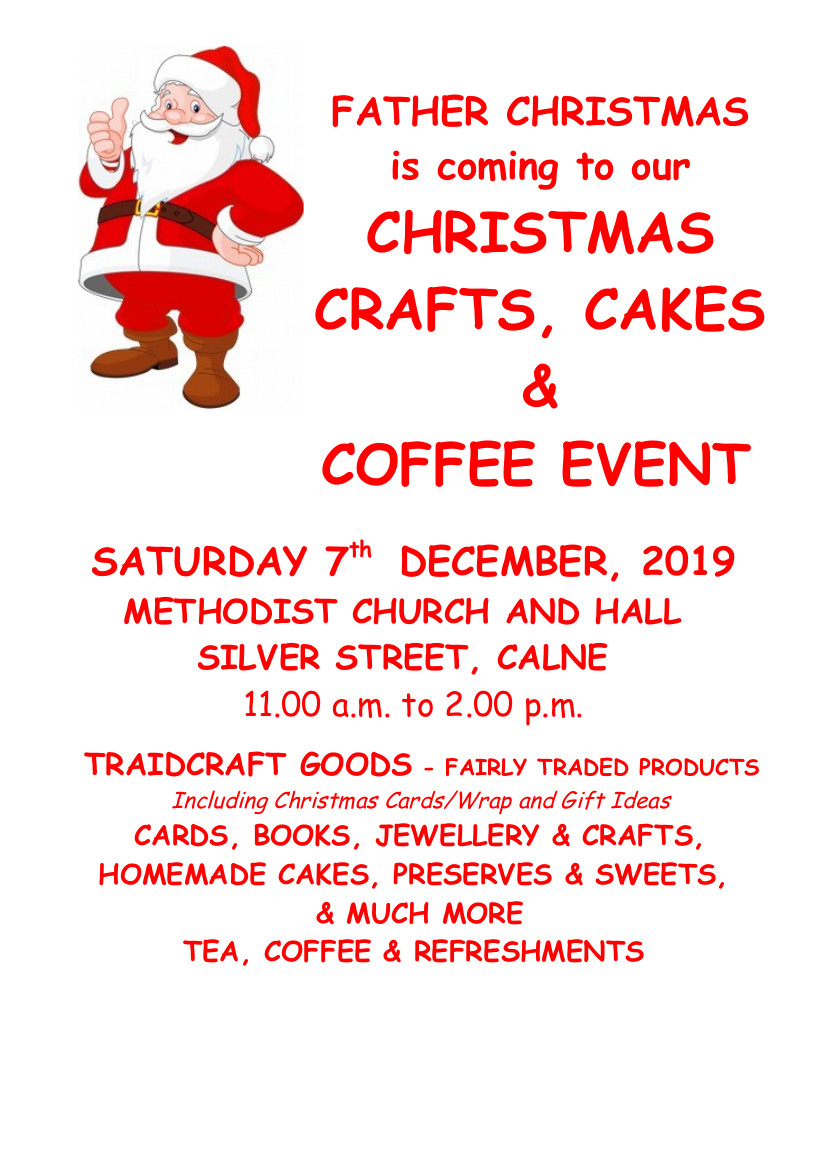 Christmas Crafts, Coffee & Cake Event