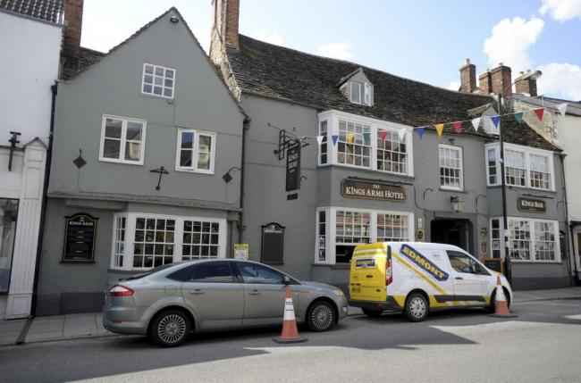 The Kings Arms Hotel in Malmesbury. Picture by Paul Nicholls