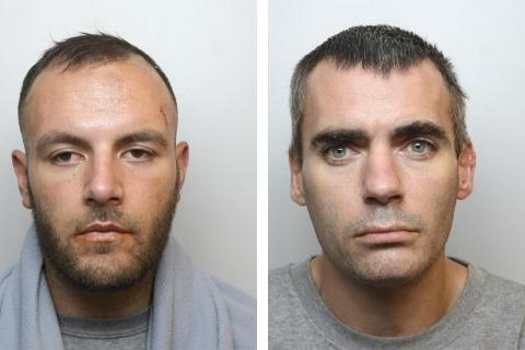 Saleem Ayoub and Duncan Chaney Picture: WILTSHIRE POLICE