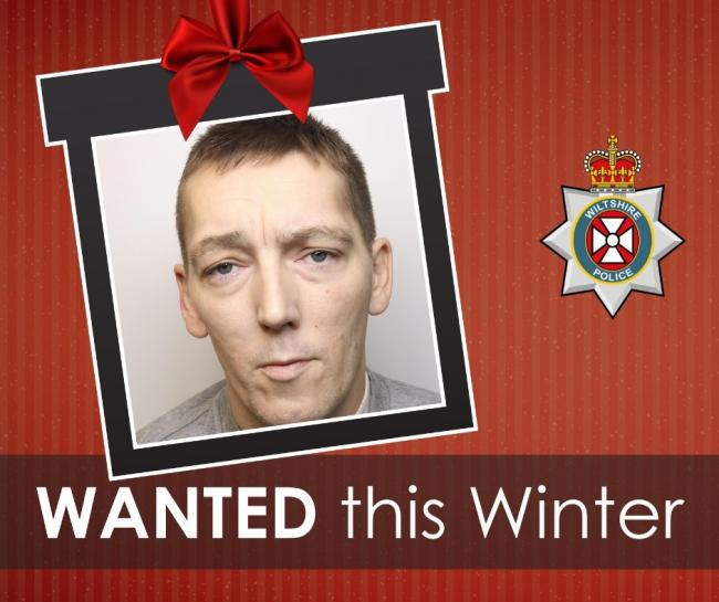Richard Lowe is wanted by Wiltshire Police