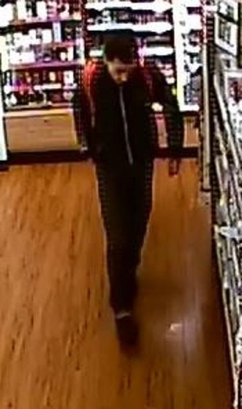 Police would like to speak to this man in connection with theft of razors from a pharmacy