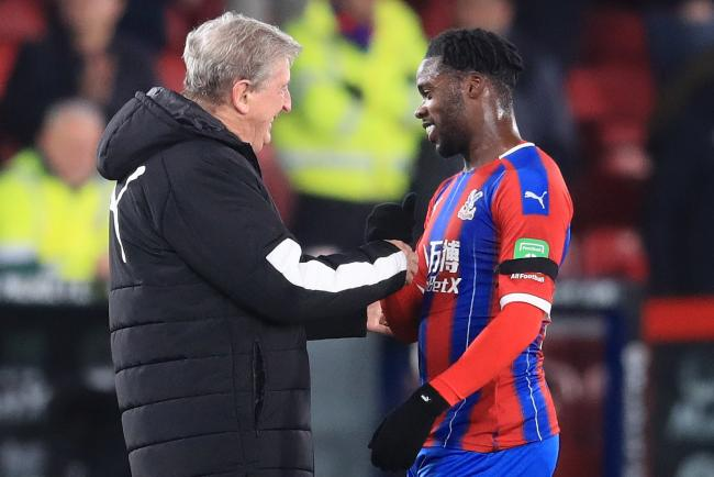 Jeffrey Schlupp (right) has scored off the bench in Crystal Palace's last two games