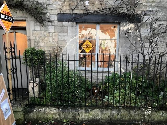 Paint was thrown at Jane Gibson's home in Bradford on Avon because she was displaying Liberal Democrat posters