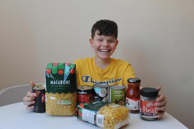 Thomas Pullinger, 11, sold his iPad to buy food for the homeless