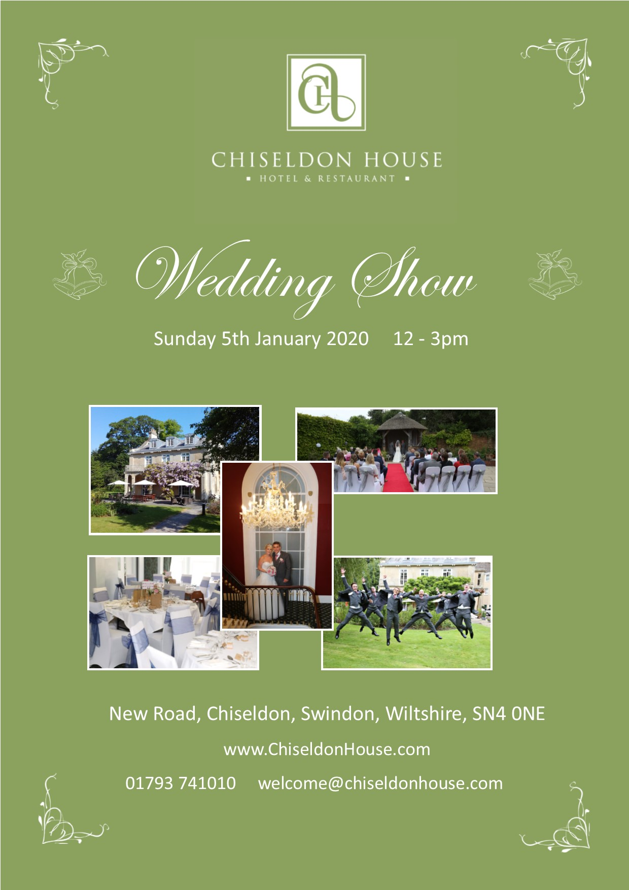 Chiseldon House Wedding Show