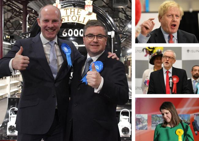 Triumphant night for Swindon's Tories as Boris Johnson secures big majority