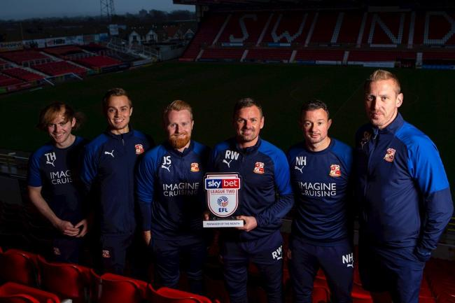 Wellens and Doyle scoop manager and player of the month awards