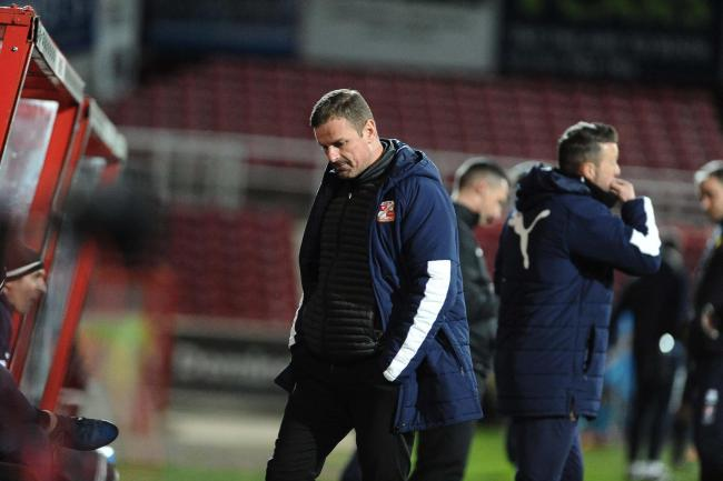 REACTION: Town denied usual 'free flowing' style on poor Newport pitch - Wellens speaks after defeat
