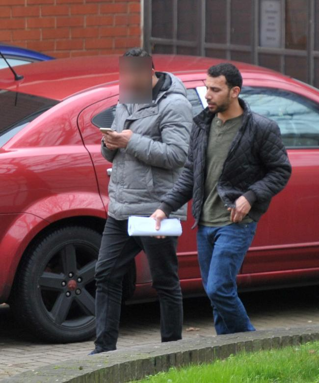 Alathoub outside Swindon Crown Court Picture: ADVER PHOTOGRAPHER