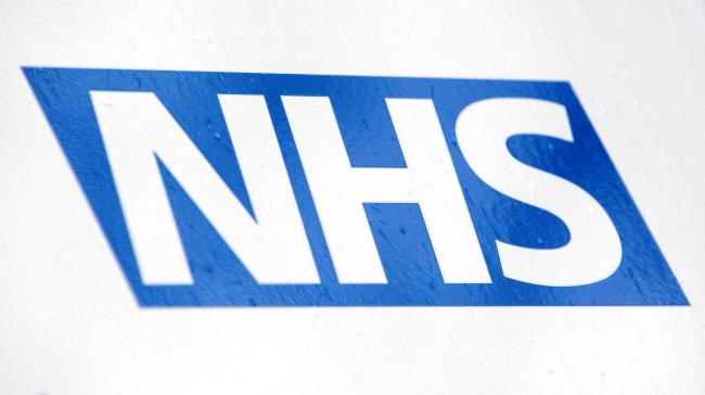 File photo dated 23/04/12 of an NHS logo. Almost half of all NHS senior staff plan to leave or are considering leaving the service due to the pensions crisis, according to a new report..