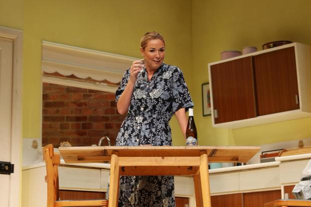 Claire Sweeney stars in Shirley Valentine at Salisbury Playhouse