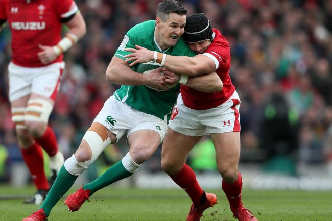 Johnny Sexton was appointed Ireland captain ahead of the Six Nations