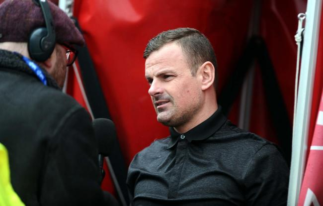 Swindon Town manager Richie Wellens was pleased with his team's game management during the 3-1 win over Rochdale on Saturday   Pic: Shaun Reynolds