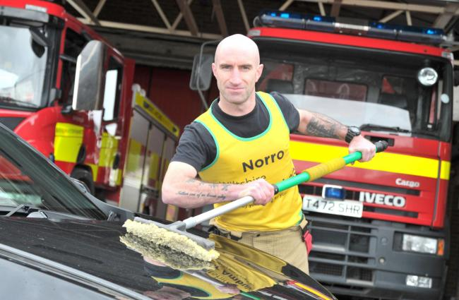 Ian Norris is a firefighter at Royal Wootton Bassett Fire Station