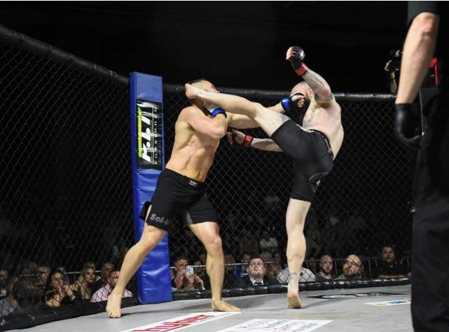 Action from a previous RAGED UK MMA event in Swindon 		     Picture: RAGED UK