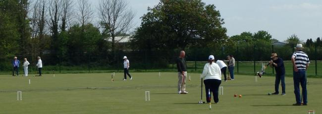 Swindon Croquet Club's Moredon home is hoping for an expansion in the near future