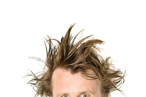 Milton Jones, photo credit: Karla Gowlett, comedian photography