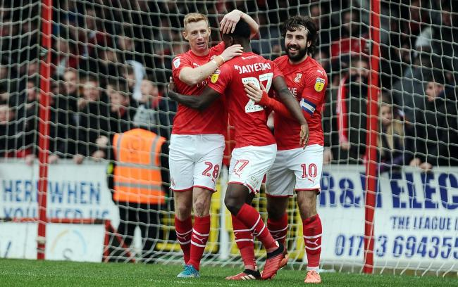 Swindon Town are second in the League Two table with ten games left