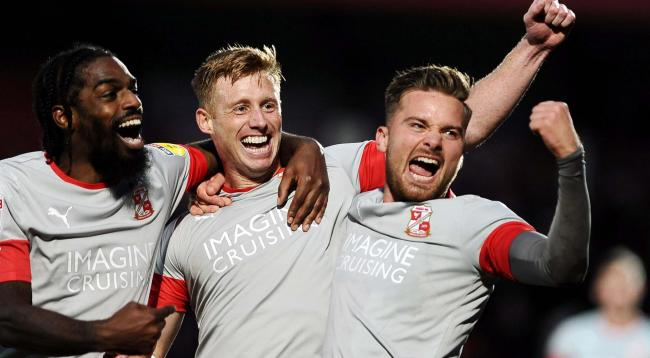 Swindon Town are set to be crowned champions of League Two