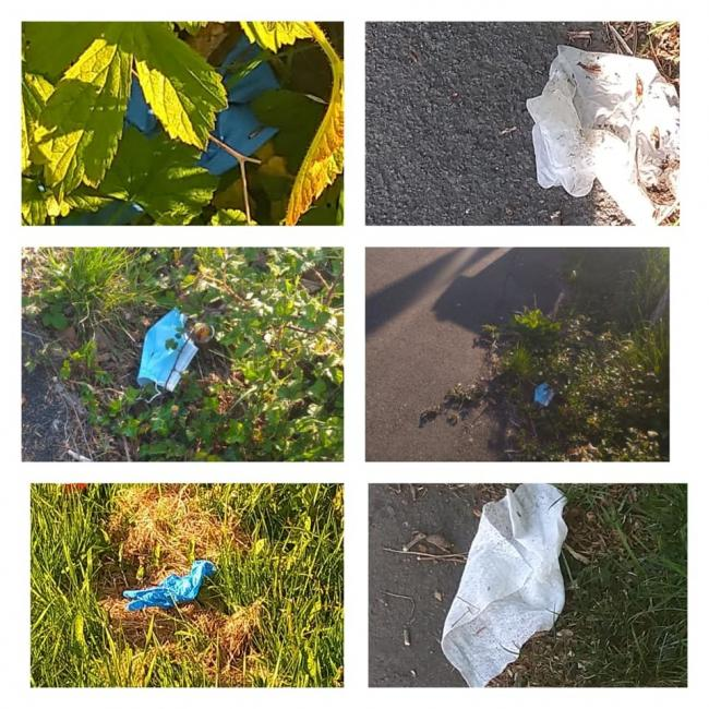 PPE litter is becoming an increasing problem on our streets