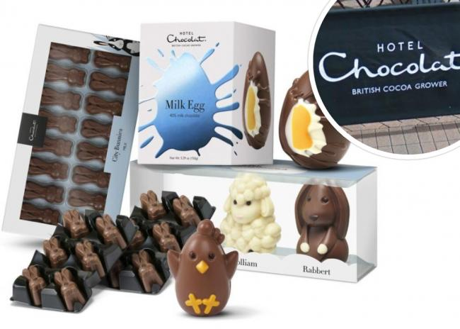 How bargain hunters can get discounts on unsold Easter items at Hotel Chocolat. Picture: Hotel Chocolat